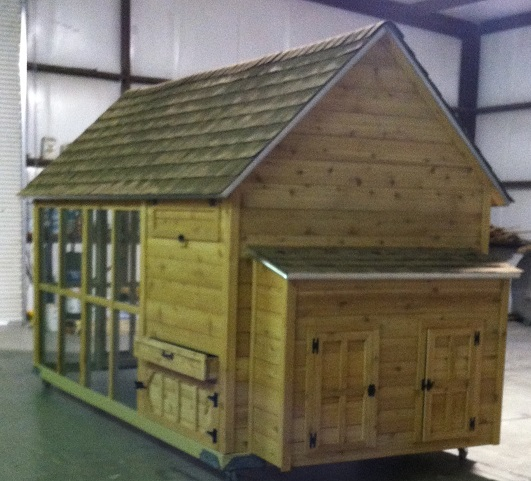 Luxury Fancy Cedar Chicken Coops